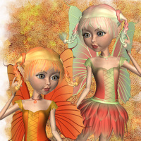 Fresh Fruit for Flora Fairy Outfit for Mavka 3D Figure Essentials Bea