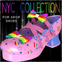 NYC for KPop Shoes Themed Footwear 3DSublimeProductions