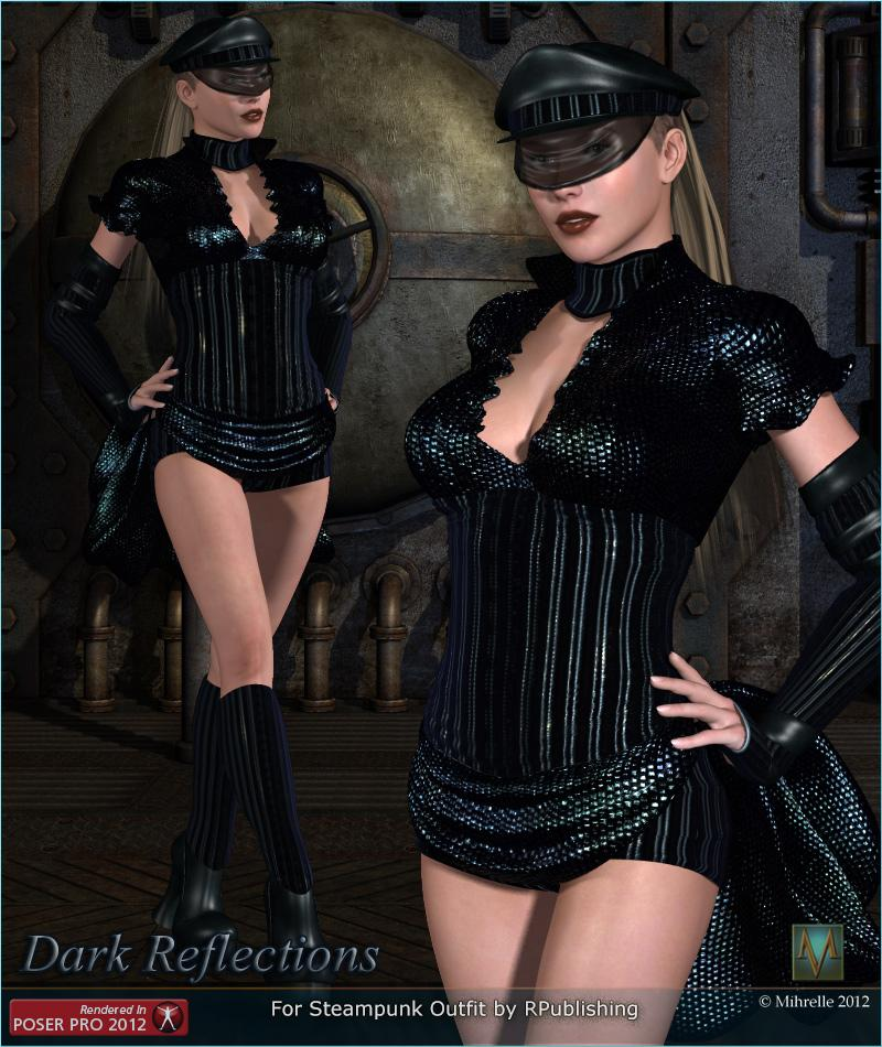 MRL Dark Reflections2 for Steampunk Outfit