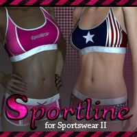 Sportline for Sportswear II 3D Figure Essentials Lajsis
