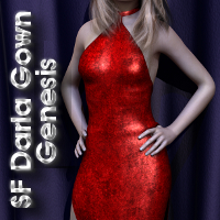 SF Darla Gown Genesis 3D Figure Essentials SickleYield