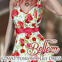 Belleza for Lily Dress Themed Clothing FrozenStar