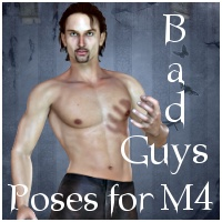 Bad Guys: Poses for M4 3D Figure Essentials Varnayrah
