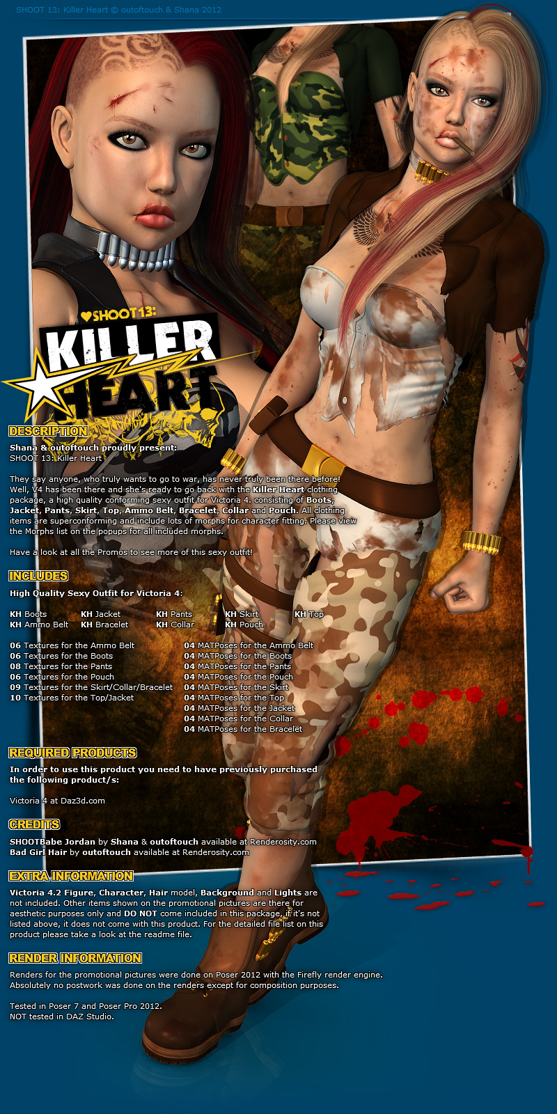 SHOOT 13: Killer Heart