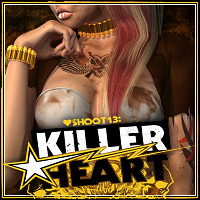 SHOOT 13: Killer Heart 3D Figure Assets ShanasSoulmate