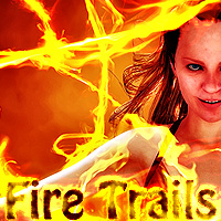 Fire Trails 2D 3D Models designfera