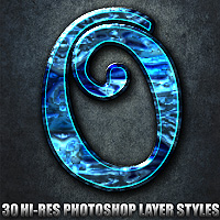 Ornated - Photoshop Styles 2D Graphics designfera