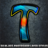 Tropical - Photoshop Styles by designfera
