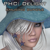 PHC : Delight - Amuse Bundle Clothing Themed Hair P3D-Art