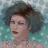 Surreal Trio Trio Themed Hair surreality