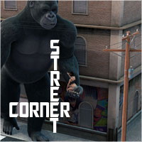 Street Corner Props/Scenes/Architecture Software ile-avalon