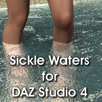 SY Waters for DAZ Studio Materials/Shaders Props/Scenes/Architecture SickleYield