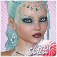 Candy Siren 3D Figure Essentials Sveva