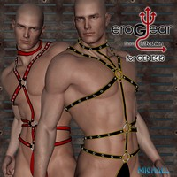 DZ EroGear Set 1 for Genesis 3D Figure Assets dzheng