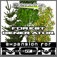 M.O.M Forest Generator Props/Scenes/Architecture Themed powerage