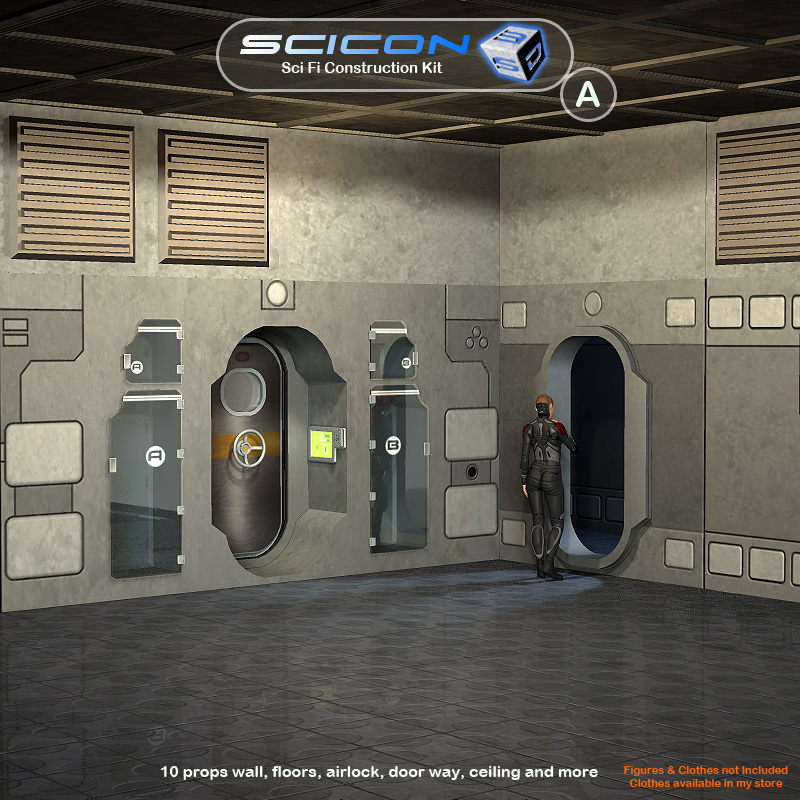 Scicon SciFi Constructor Set A