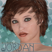 Surreal Jordan 3D Figure Essentials 3D Models surreality