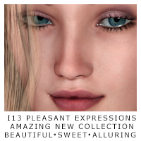 i13 Pleasant expressions for V4 Poses/Expressions ironman13