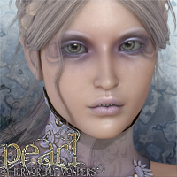 Otherworldly Wonders Pearl 3D Figure Assets surreality