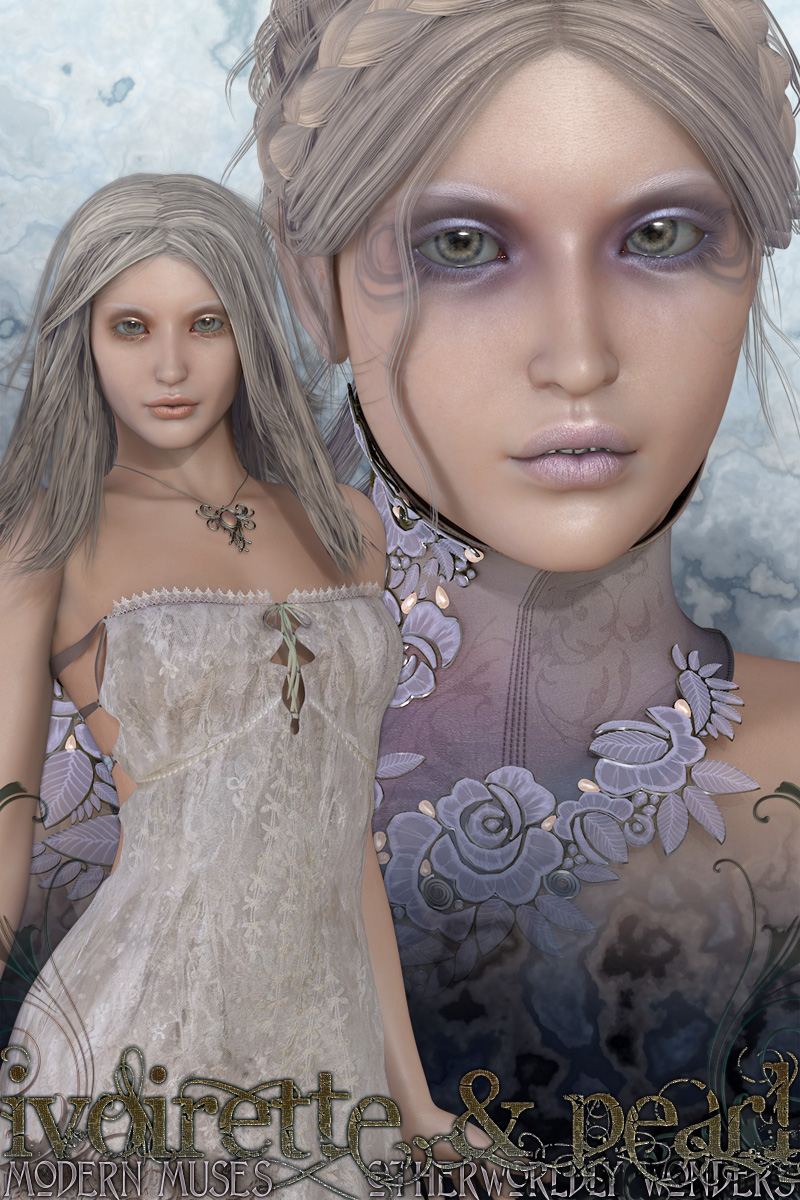 Ivoirette & Pearl Bundle by surreality