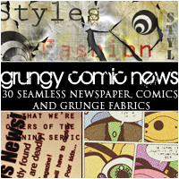 Grungy Comic News  2D And/Or Merchant Resources lilflame