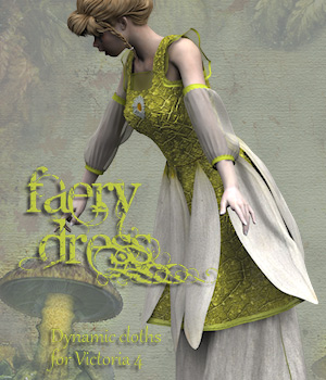 FaeryDress 3D Figure Assets Tipol