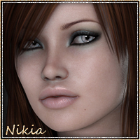 Sabby-Nikia for V4 Software Characters Sabby