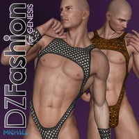 DZ SkinX for Genesis 3D Figure Essentials dzheng