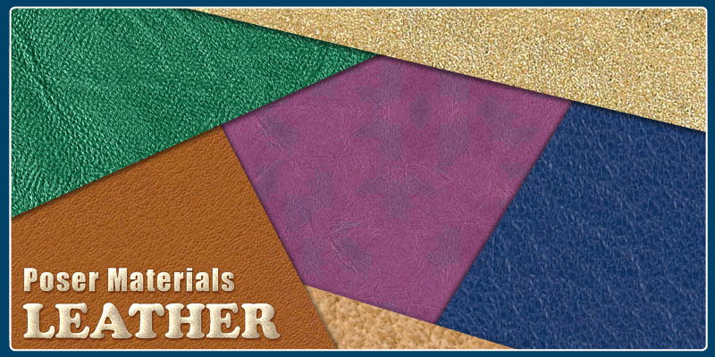 Poser Materials - Leather