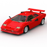 Lamborghini Countach (for Lightwave) 3D Models Digimation_ModelBank