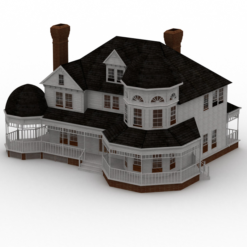 Victorian House (for Lightwave)