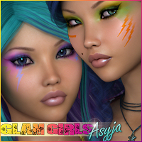 Glam Girls: Asyja 3D Figure Essentials Silver