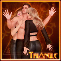 Triangle - For V4 and M4 3D Figure Essentials 3D Models ilona