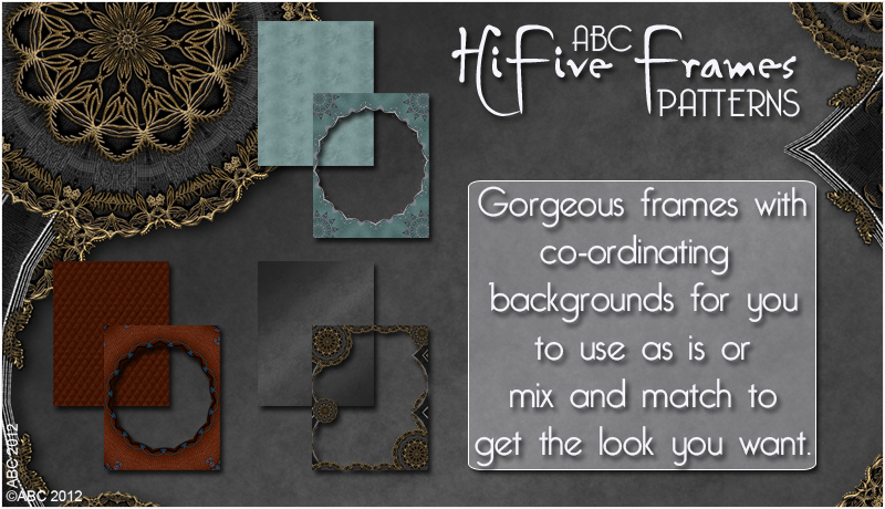ABC HiFive Frames - Patterns