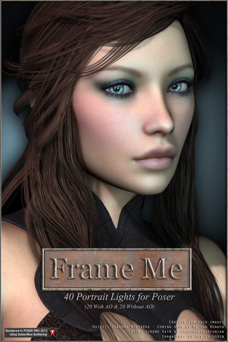 Frame Me Lights for Poser