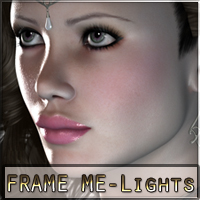 Frame Me Lights for Poser Props/Scenes/Architecture nikisatez