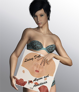 Living Doll for Alyson 2 and Anastasia - a merchant resource 3D Figure Essentials 2D SaintFox