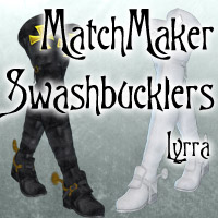 Matchmaker: Swashbuckler Boots Clothing Themed Lyrra