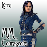 MatchMaker: Courageous 3D Figure Essentials 3D Models Lyrra