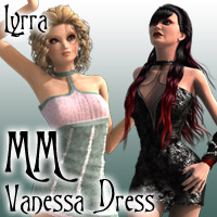 Matchmaker: Vanessa Dress 3D Figure Essentials Lyrra