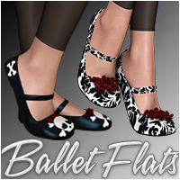 Ballet Flats by WildDesigns