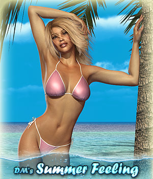 DMs Summer Feeling 3D Figure Assets 3D Models DM