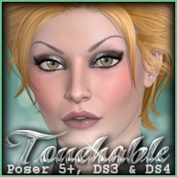 Touchable Sassy Hair Themed -Wolfie-