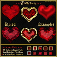 Birthstone Bling!: JULY-RUBY image 2