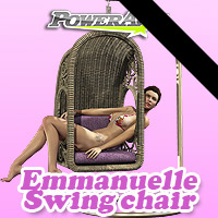 Emmanuelle Swing chair Themed Props/Scenes/Architecture Poses/Expressions powerage