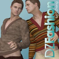 DZ Fashion Set 8 for M4H4Guy4 3D Figure Essentials dzheng