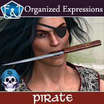 Pirate 156 Organized Expressions Software Themed Poses/Expressions EmmaAndJordi