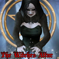 The Witches Altar 3D Figure Essentials 3D Models kaleya