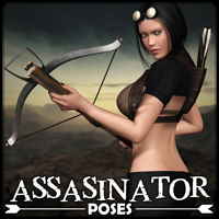 Assasinator - Poses 3D Models 3D Figure Essentials $3.99 Sale Items Week 2 mytilus