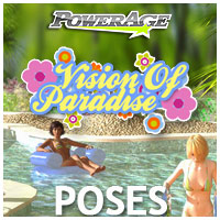 Vision Of Paradise poses 3D Figure Assets 3D Models powerage